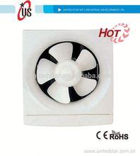 De aire en-out 6 pulgadas/8 pulgadas/10 pulgadas/12 pulgadas de escape del ventilador ventilador de ventilación estufa de leña ventilador de escape de aire para uso claro