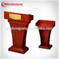 Conferência de madeira tribuna/plataforma carrinho/púlpito para igrejas