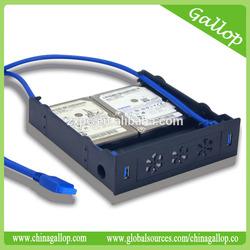 USB 3.0 Front Hub Multi-function Bracket HDD bracket for 5.25'' bay or HDD bracket with USB 3.0 Front Hub