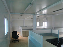 Used container offices design