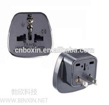 Hot selling China alibaba Euro UK to Korea plug travel adapter, germany to usa adapter plug