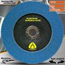 T29 7'' Flap wheel Abrasives disc with Klingspor abrasives sanding cloth