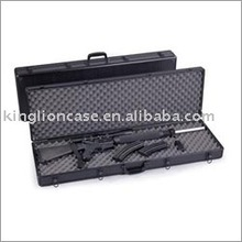 hard long size aluminum gun case