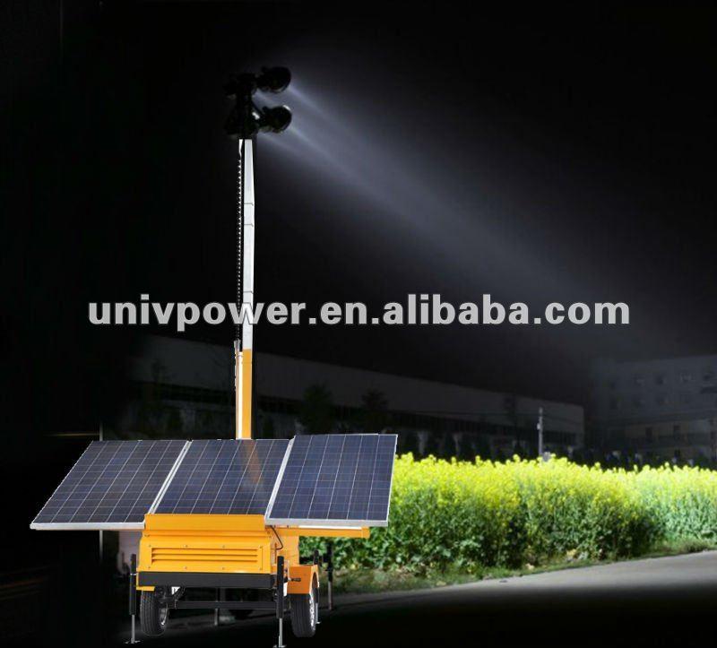 Torre de iluminação solar----- a energia verde