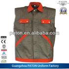 Breathable work uniform,work wear, work vest