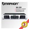 Naphon 2015 Latest power amplifier sound standard Stereo Power Amplifier MA200