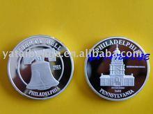 2013 liberty bell custom fine silver philadelphia coin