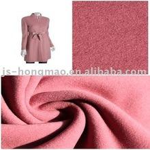 Cheap Pink Wool Dress Woven Fabric