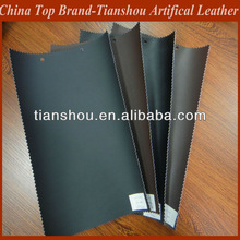 PU leather for safety shoes TC backing artifical leather