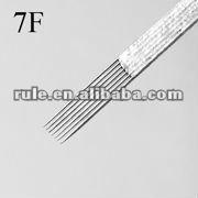 professional sterilized tattoo needle 7F series