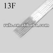 professional sterilized tattoo needle 13F series
