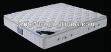 Bedroom furniture four sided pocket spring mattress