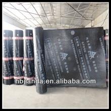 torched on heat applied 3mm SBS/APP modified bituminous waterproof membrane