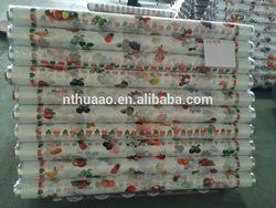 plastic pvc table cover