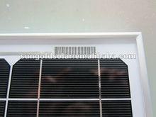 high efficiency solar panel mono 100w