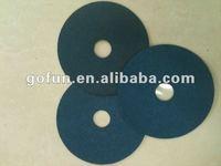 Resin over resin zirconia Fiber disc