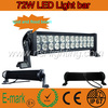 High Intensity 13.5&#39;&#39; 72W Work Light,Auto LED Light Bar 4X4,Off-road LED Driving Light Bar 12V 24V 36W/72W/120W/180W/240W