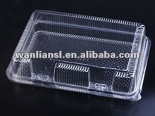 airline plastic hinged box