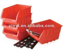 4pcs plastic storage bin kit, wall mount parts bins,combination tool boxes (202669)