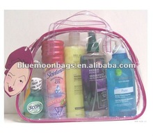 Hotsale 2012 new listing clear pvc cosmetic bag for cosmetic packing