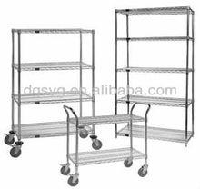 Heavy-duty wire mesh shelf,chrome wire shelf,stainless steel wire shelf