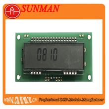 7 segment lcd use for Heatenergy meter