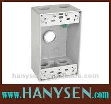 UL standard Aluminum Weatherproof Junction Box IP65