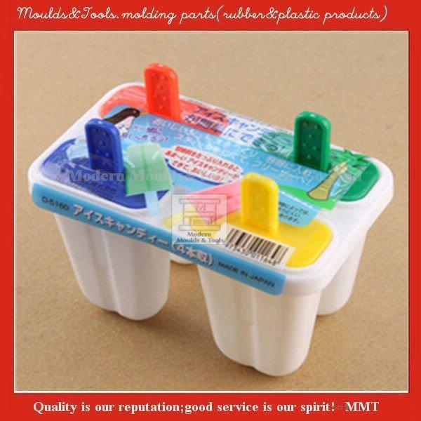 forma personalizada de picolé de plástico do molde