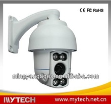 Mini IR high speed dome camera with auto tracking,day night security cctv camera ptz
