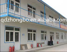 China ISO low cost high quality prefabricated house with sandwich panel