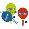 plastic paddle ball beach racket