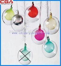 2014 new design glass christmas ornament,wholesale high quality very glass christmas decoration