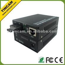 10/100/1000TX To 1000LX Media Converters Fiber to Copper, Single-Mode 40km, SC Connector,Fibre Optics Application