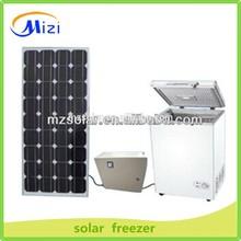 Solar freezer, dc/ac portable mini freezer 12v/24v, dc mini deep freezer