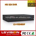 Ls visão 8 canal sdi 1080p full hd free software cliente h. 264 dvr