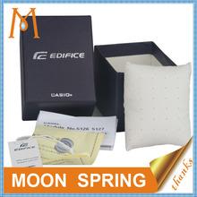 Moonspring custom branded mens watch box,paper watch box