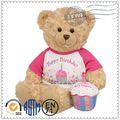 fonte da fábrica personalizado hot venda de brinquedos de pelúcia e brinquedos de pelúcia urso gummy