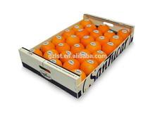 Customize design fruit box for orange/la naranja caja