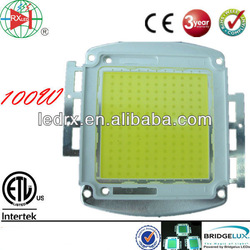 energy saving Bridgelux high brightness 100W LED module COB 9000 to 10000LM