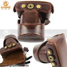Professional PU Leather Digital Camera Bag