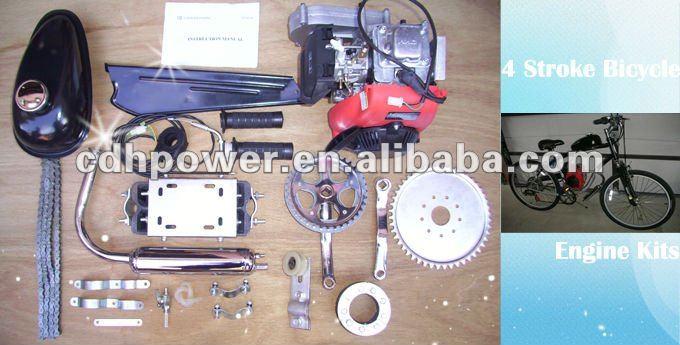 4 Stroke 49cc Bicycle Engine Kit/ Bike Engine