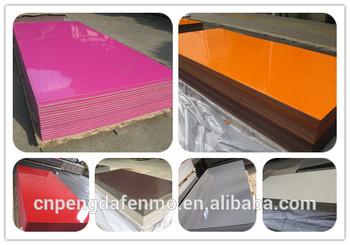 New design 1300x2800mm HPL laminate