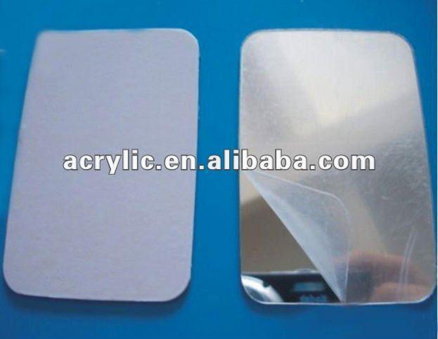 Adh sif feuille de miroir en plastique miroir id du for Miroir en plastique