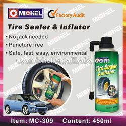 Tire Sealer and Inflator, 450ml Tyre Sealer & Inflator