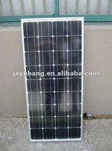 90w 12v mono crystalline solar panel solar module photovoltaic pv panel pv module for caravan motor homes living container