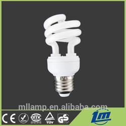 U half spiral full spiral lotus mushroom 7mm-17mm Tricolor E14 E27 B22 E40 2700K-6400K High quality light Energy Saving Bulb