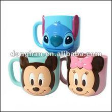 china manufacturer factory direct embossed cartoon mug,