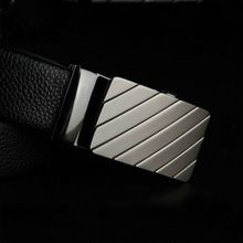 2015 Newest fashion handmade Man style genuine leather Belt, 2015 brand new belt with removable buckles