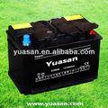 Excelente yuasan din 12v 66ah de chumbo ácido seca bateria recarregável carro para automóveis - din66