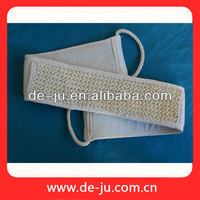 Wholesale Skin Care Sisal Loofah Belts Long Back Scrubbing Brushes
